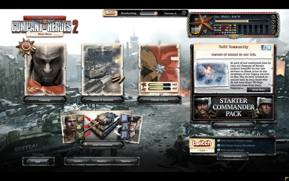 Twitch Company of Heroes 2