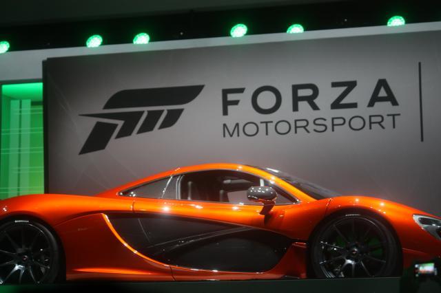 E3 2013 - McLaren P1