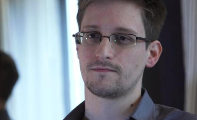 NSA whistleblower Edward Snowden.