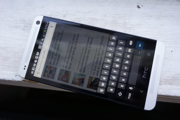 Google Keyboard on Android with a HTC One