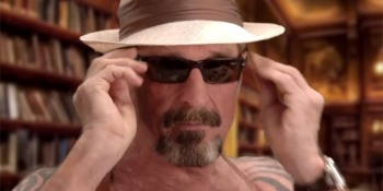 John McAfee's plan to build a million tiny darknets, foil the NSA, & give everyone free music