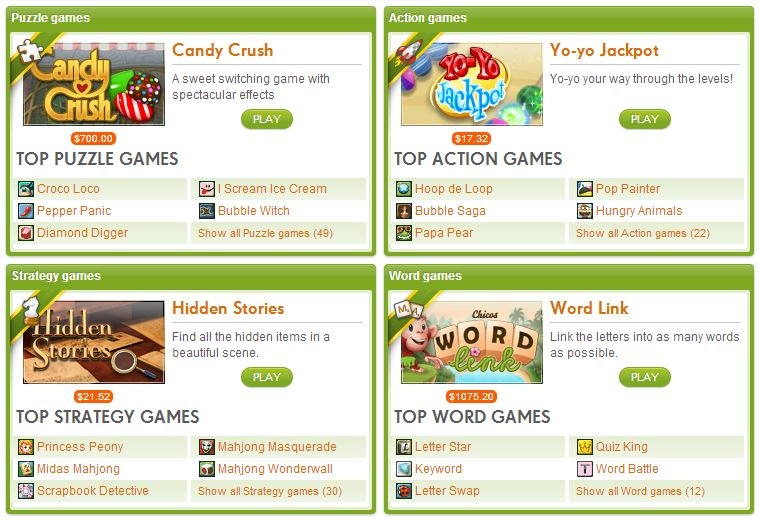 King.com Candy Crush