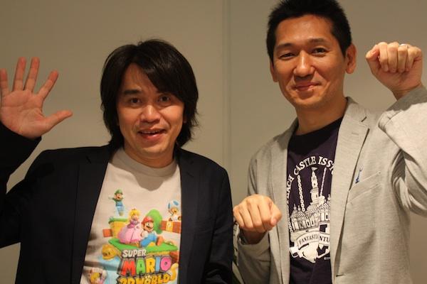 Koizumi and Hayashida from Nintendo