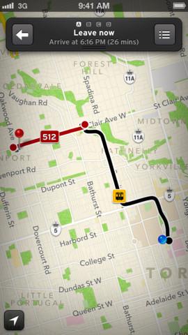 transit app ios