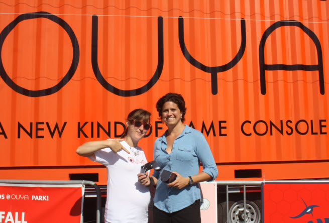 ouya julie uhrman kelly santiago
