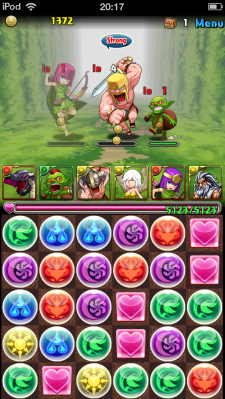 Puzzle and Dragons - Clash of Clans