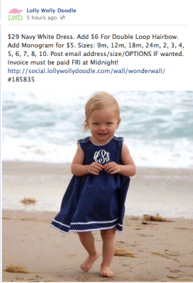 Who wouldn't love this nautical-themed baby dress