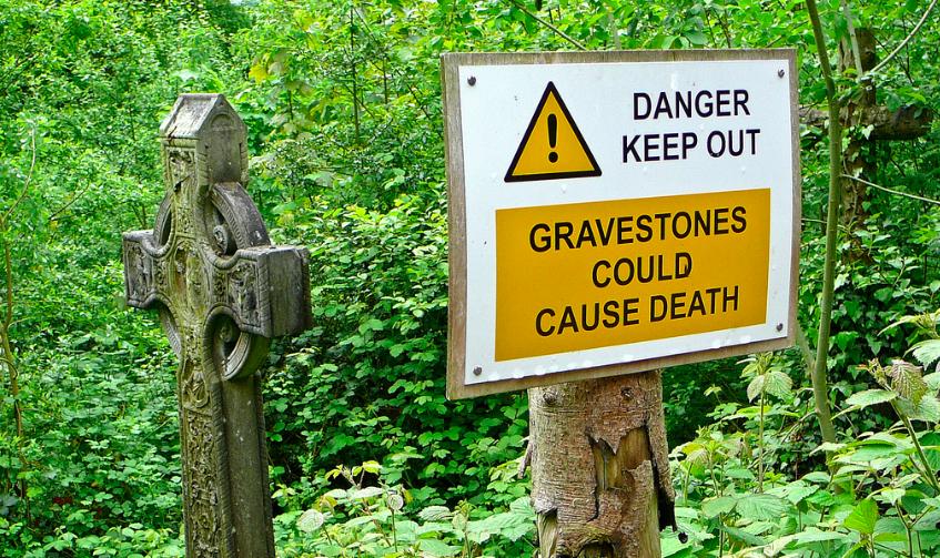 gravestone death