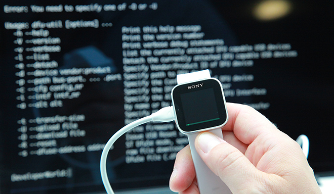 smartwatch hacking