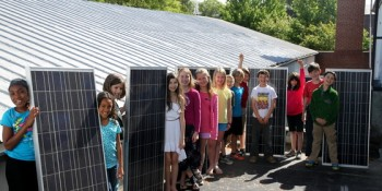 Fourth grade problem-solvers take their classroom 'off the grid'