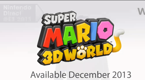 Super Mario 3D world