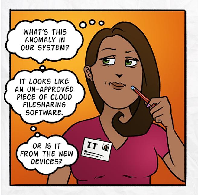 Symantec comic