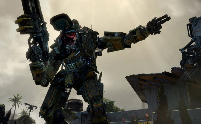 Titanfall is a multiplayer title coming from Respawn Entertainment.