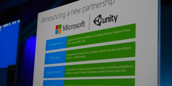 It's not self-publishing, but Microsoft reveals deep Xbox One Unity support