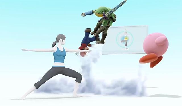 Super Smash Bros. -- Wii Fit Trainer