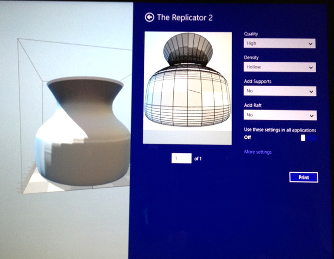 Why 3D printing in Windows 8 1 is huge for Microsoft and