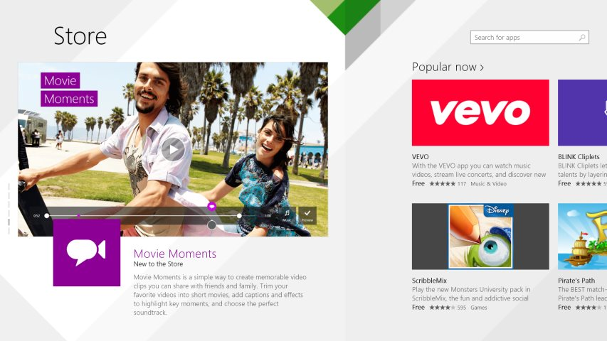 Microsoft U0026 39 S Windows 8 1 App Store Evolves With New Design