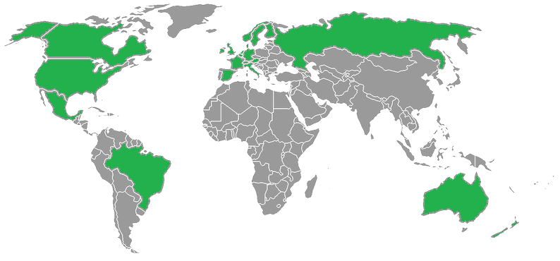 Xbox One countries