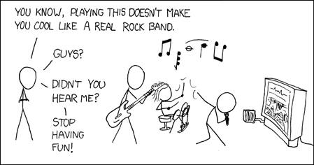 xkcd Rock Band