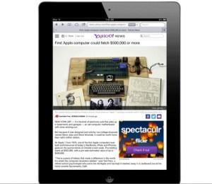 Yahoo News iOS