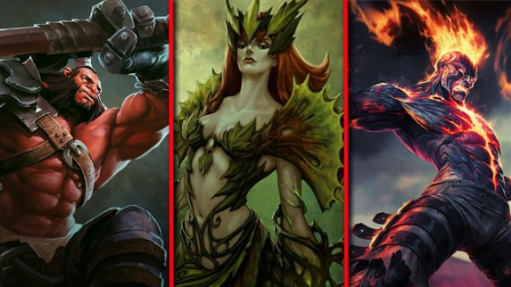 Dota 2 vs. League of Legends vs. Heroes of Newerth