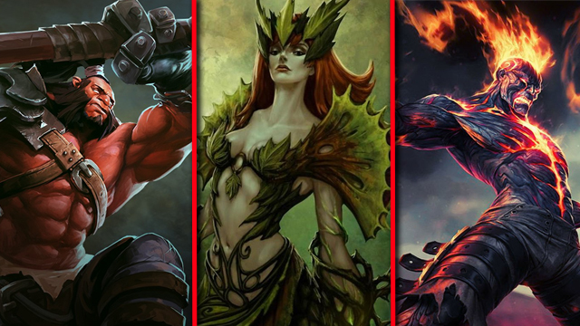 Dota 2 vs. League of Legends vs. Heroes of Newerth