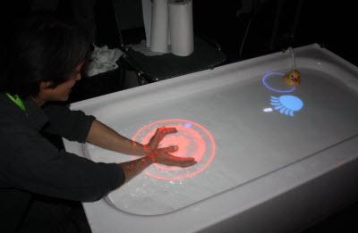 AquaTop bathtub display