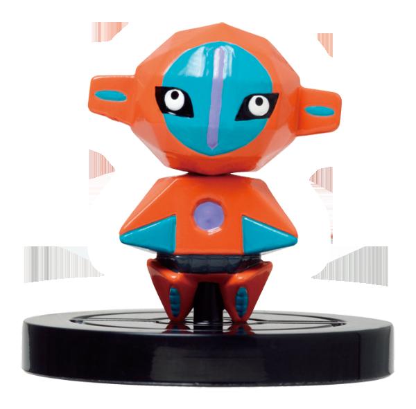 Pokémon Rumble U's Deoxys NFC figure.