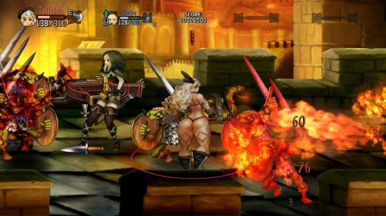 Dragon's Crown Temporary Weapons