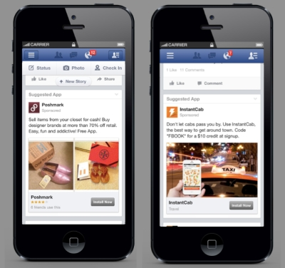 Behind the top mobile ad publishers: Facebook, Google