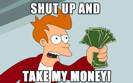 Fry Futurama money