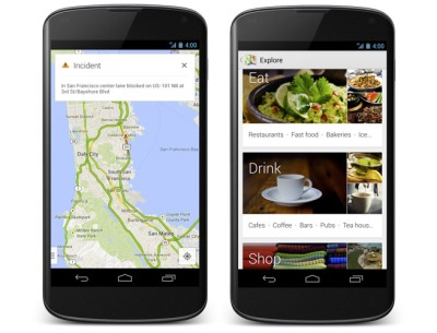 Google Maps updated on Android with new navigation features ... on apple maps ios, bloons td 5 ios, google drive ios, google app ios, bing ios, real racing 3 ios, nokia maps ios, google messenger ios,