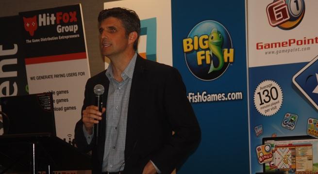 Greg Richardson, CEO of Rumble Entertainment