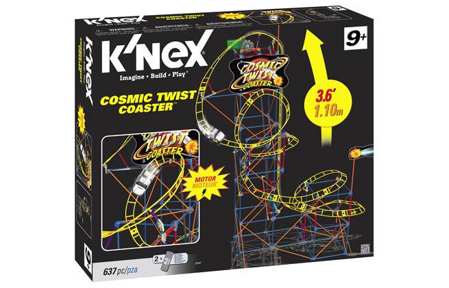 K'nex Cosmic Twist Coaster set
