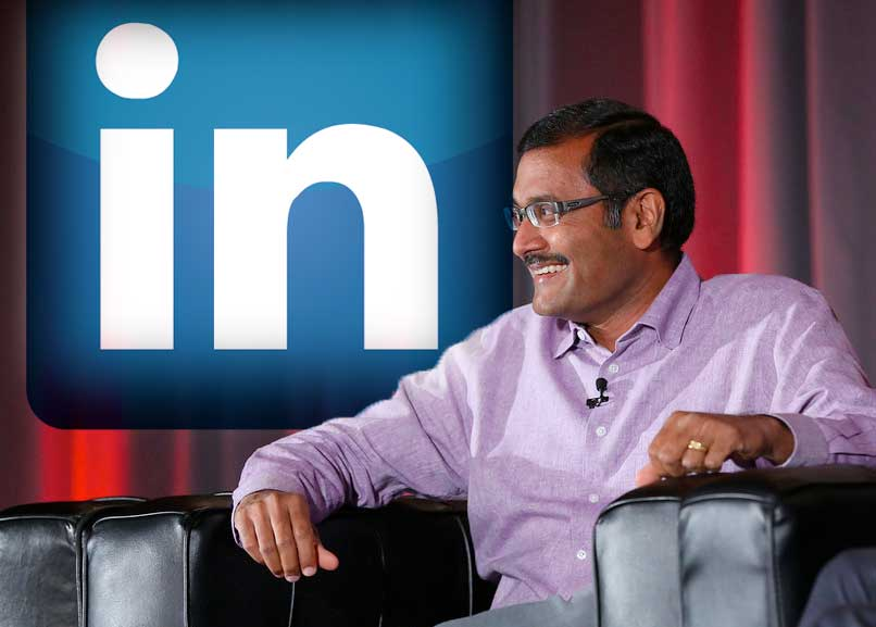 Deep Nishar, LinkedIn's senior vice president of products and user experience, talks during Day 2 of MobileBeat 2013.