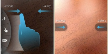 Moto X may have the simplest smartphone camera interface yet