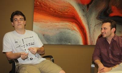 Palmer Luckey and Brenda Iribe of Oculus VR