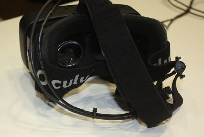 Oculus Rift HD headset