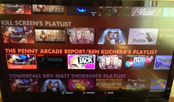 Ouya Discover Screen