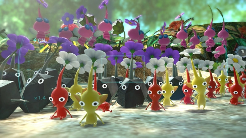 Joyful Exploration And Intense Fights Make Pikmin 3 The Best Wii U Game Yet Review Venturebeat