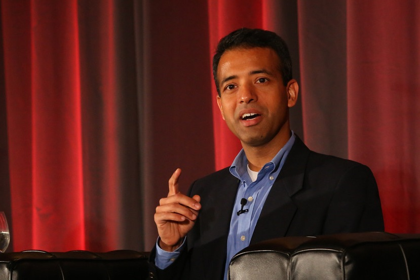 Prashant Fuloria, chief product officer for Flurry, onstage at MobileBeat
