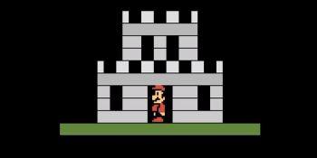 Developer remakes Super Mario Bros. for Atari 2600