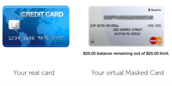 real-card-versus-masked-card