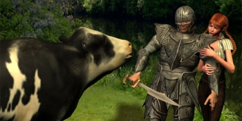 Players kill over 2,000 cows per minute in RuneScape 3