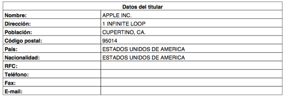 apple iwatch trademark filing