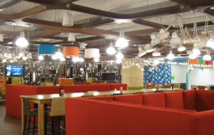 Quicken Loans cafeteria in downtown Detroit