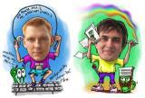 Andrey Kovalishin and Maxim Yurchenko, Snail Games cofounders