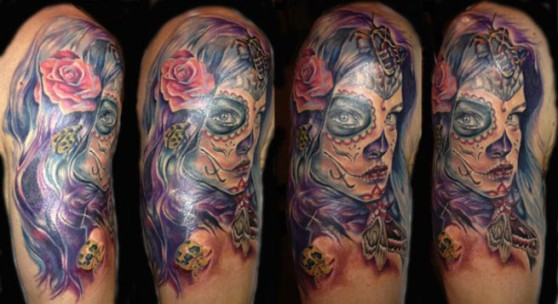 One of the tattoos on Tattoo Hero