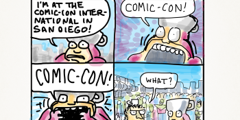 Missing Comic-Con? ComiXology & New Yorker cartoonist Shannon Wheeler have you covered (web comics)