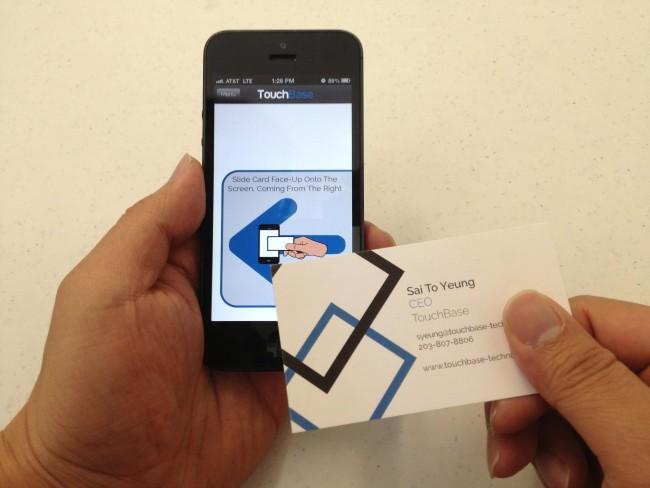 Touchbase an nfc alternative that you might actually use venturebeat colourmoves